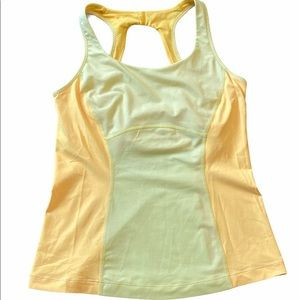 GUC Lululemon Tank Top with Mesh Size 8